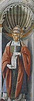 Pope Fabiano, 1483, perugino