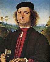 Portrait of Francesco delle Opere, 1494, perugino