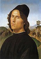 Portrait of Lorenzo di Credi, 1488, perugino