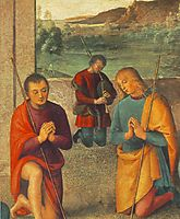 The Presepio (detail 1), 1498, perugino