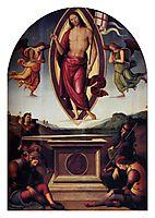 Resurrection, 1500, perugino