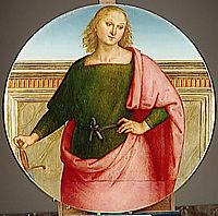 Saint, 1510, perugino