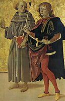 St.AnthonyofPadua and St. Sebastian, 1478, perugino
