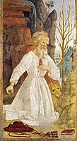 St. Jerome penitence, 1473, perugino