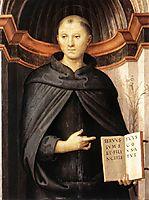 St. Nicholas of Tolentino , 1507, perugino