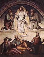 The Transfiguration, 1498, perugino