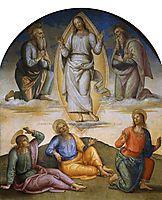 Transfiguration, 1500, perugino