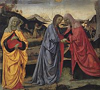 The Visitation with St. Anne and St. John the Stigmata of St.Francis, 1473, perugino