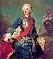 Frederick the Great, 1736, pesne