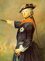 Frederick II of Prussia as general, 1745, pesne