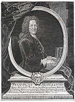 Friedrich Hoffmann, German physician, pesne