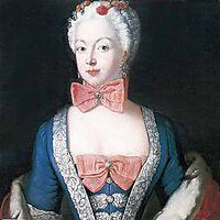 Portrait of Elisabeth Christine von Braunschweig Bevern, Prussian queen, c.1739, pesne