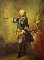 Portrait of Frederick II, c.1743, pesne