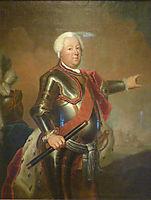 Portrait of Frederick William I of Prussia, c.1733, pesne