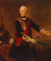 Prince Augustus William of Prussia, c.1750, pesne