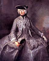 Princess Amalia of Prussia as an Amazon, pesne