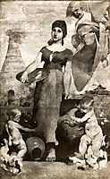 Allegory of Ceramic Painting, 1885, pinheiro