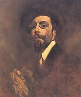 Auto-retrato, 1904, pinheiro