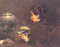 A Chávena de Chá, 1898, pinheiro