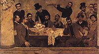 The Lion-s Group, 1885, pinheiro
