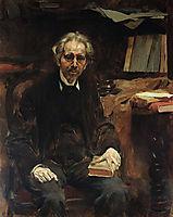 Retrato de Teófilo Braga, 1917, pinheiro