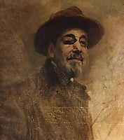 Self-portrait, 1926, pinheiro