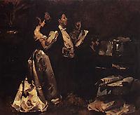 Um Concerto de Amadores, 1882, pinheiro