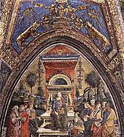 The Arithmetic, 1491, pinturicchio