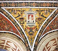 Ceiling decoration (detail), 1503, pinturicchio