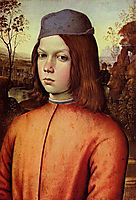 Portrait of a Boy, 1500, pinturicchio