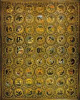Semi-Gods Ceiling, 1490, pinturicchio