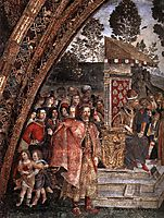 St Catherine-s Disputation (detail), 1491, pinturicchio