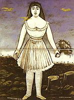 Actress Margaret, 1909, pirosmani