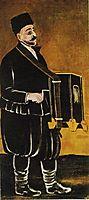 Barrel Organ Player, pirosmani