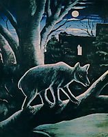 A Bear in a Moon Night, 1914, pirosmani