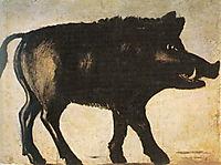 Boar, pirosmani