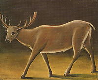 Deer, 1909, pirosmani