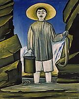 Fisherman among Rocks, 1906, pirosmani