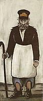 Gate Keeper, c.1905, pirosmani