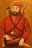 Giorgi Saakadze, 1913, pirosmani