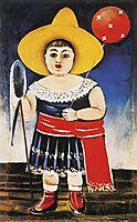 Girl with a Baloon, pirosmani