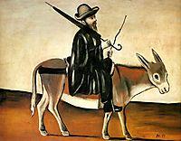Healer on a Donkey, pirosmani