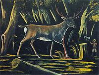 Hunter, 1907, pirosmani