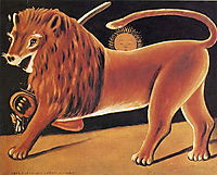 Lion and Sun, pirosmani