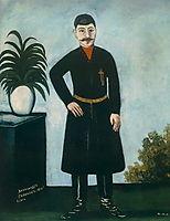 Portrait of Alexander Garanov, 1906, pirosmani