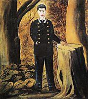 Portrait of Ilya Zdanevich, 1913, pirosmani