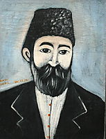 Self Portrait, 1900, pirosmani