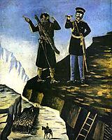 Sheth helps Prince Baryatinsky catch Shamil, pirosmani