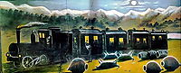 Train in Kakhetia, pirosmani