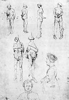 Hanged Men and Two Portraits, 1430, pisanello